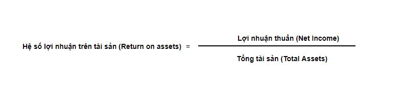 chỉ số lợi nhuận trên tài sản